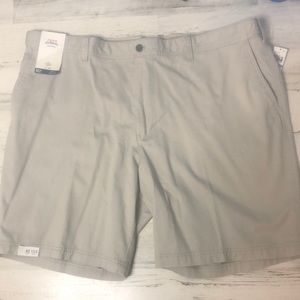 Izod Saltwater The Washed Chino Flat Front 48W